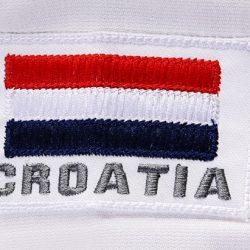 Croatia flag embroidery