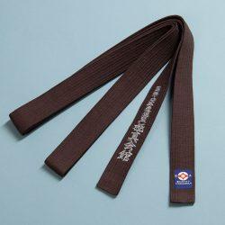 brown kyokushin belt