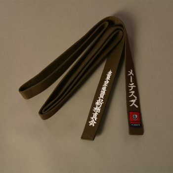karate brown belt