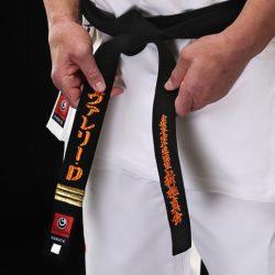 karate black belt shinkyokushin