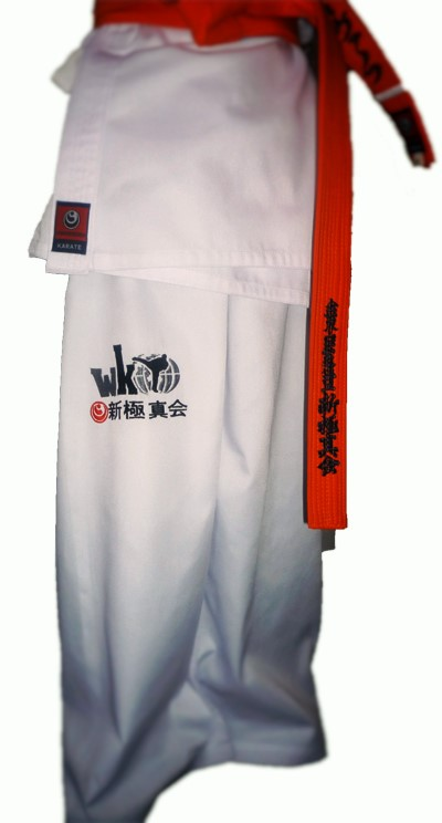 karate shinkyokshin summer dogi