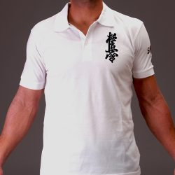 Kyokushin white polo t-shirt