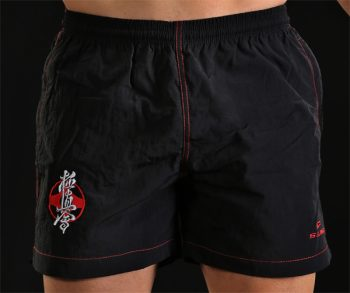 Black kyokushin shorts