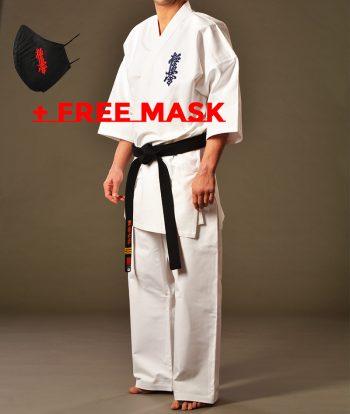 kyokushin karate gi + free mask