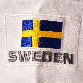 sweden flag embroidery