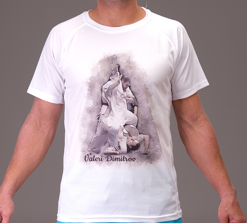 Valeri Dimitrov do mawashi t-shirt
