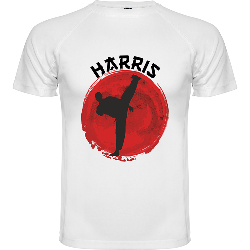 Karate name t-shirt