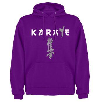 Kyokushin purple hoodie