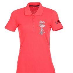 Ladies karate polo shirt