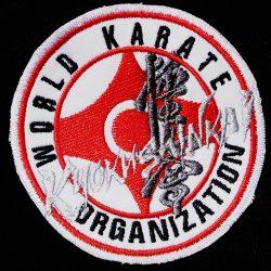 Kyokushin logo embroidery