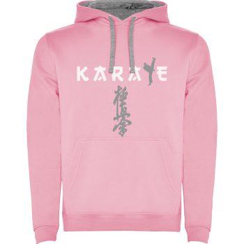 Kyokushin karate pink hoodie