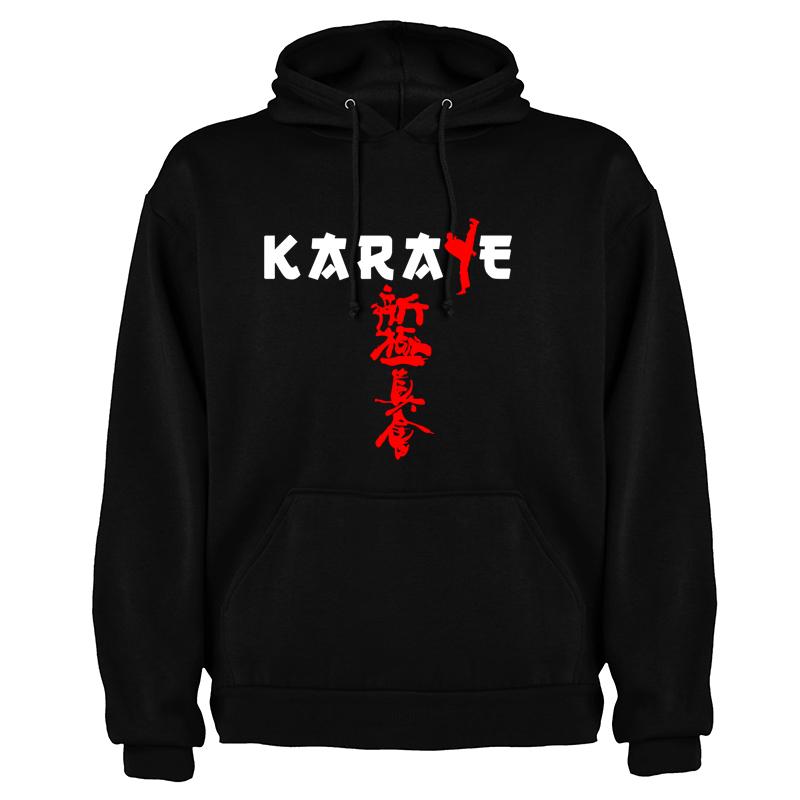 Shinkyokushin black hoodie