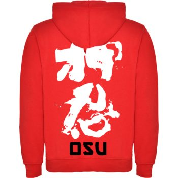 Red Shinkyokushin hoodie