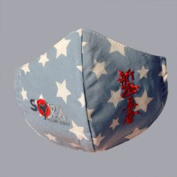 kids shinkyokushin karate face mask