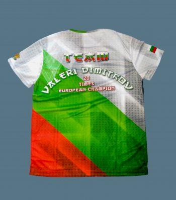 Valeri Dimitrov shinkyokushin t-shirt